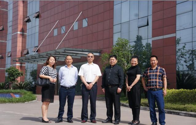 中国玻纤协会副会长张志刚到长兴玻纤有限公司考察洽谈合作事宜